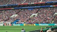 海信世界杯首秀出奇招 竟打出俄文广告